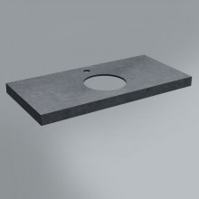 Столешница Kerama Marazzi Canaletto 100х48 см, Роверелла серый темный CN100.DL501300R