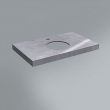 Столешница Kerama Marazzi Canaletto 80х48 см, Риальто серый лаппатированный CN80.SG560702R