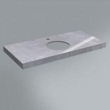 Столешница Kerama Marazzi Canaletto 100х48 см, Риальто серый лаппатированный CN100.SG560702R