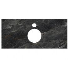 Столешница Kerama Marazzi Plaza Classic 100 см, Риальто темный серый лаппатированный PL1.VT93\100
