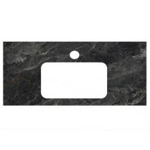 Столешница Kerama Marazzi Plaza Classic 100 см, Риальто темный серый лаппатированный PL3.VT93\100