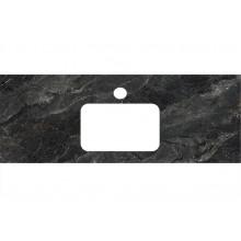 Столешница Kerama Marazzi Plaza Classic 120 см, Риальто темный серый лаппатированный PL2.VT93\120