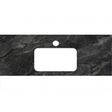 Столешница Kerama Marazzi Plaza Classic 120 см, Риальто темный серый лаппатированный PL3.VT93\120
