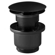 Донный клапан Paffoni, черный матовый ZSCA050NO