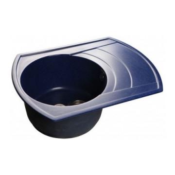 Мойка кухонная GranFest Rondo GF-R650L синий