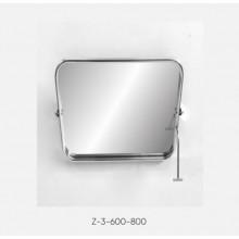 Kranik Зеркало для инвалидов поворотное антивандальное (полотно из нерж. стали) Z-3-600-800