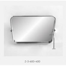 Kranik зеркало для инвалидов поворотное антивандальное (полотно из нерж. стали) Z-3-600-400