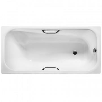 Чугунная ванна Wotte Start УР 1500х700х445  отверстиями для ручек (БП-э000001102)