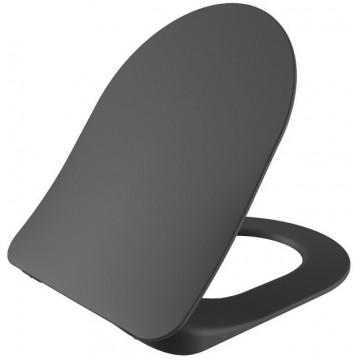 Крышка-сиденье с микролифтом Creavit KC0903.01.0400E чёрное
