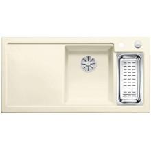 Кухонная мойка Blanco Axon II 6 S Ceramic PuraPlus, магнолия чаша справа