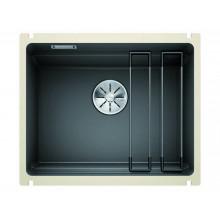 Кухонная мойка Blanco Etagon 500-U Ceramic PuraPlus, базальт