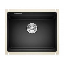 Кухонная мойка Blanco Etagon 500-U Ceramic PuraPlus, черный