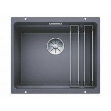 Кухонная мойка Blanco Etagon 500-U Silgranit, темная скала