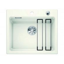 Кухонная мойка Blanco Etagon 6 Ceramic PuraPlus глянцевый, белый