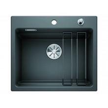 Кухонная мойка Blanco Etagon 6 Ceramic PuraPlus, базальт