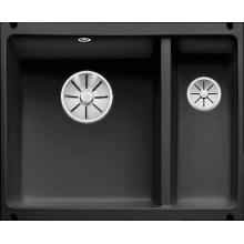 Кухонная мойка Blanco Subline 350/150-U Ceramic, черный