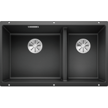 Кухонная мойка Blanco Subline 430/270-U, антрацит