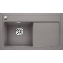 Кухонная мойка Blanco Zenar 45 S с доской из стекла чаша слева, алюметаллик