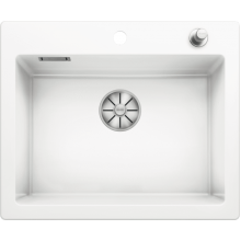 Кухонная мойка Blanco Palona 6 Ceramic PuraPlus глянцевый, белый