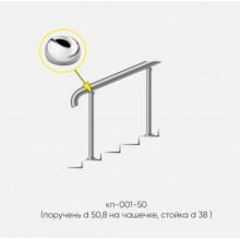 Kranik перила для лестниц без ригелей кп-001-50
