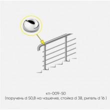 Kranik перила для лестниц 4 ригеля кп-009-50