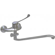 Смеситель настенный с душем локтевой Fonten 4055-08-050-2
