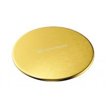 Декоративный элемент Omoikiri DEC LG 4957090 для корзинчатого вентиля, светлое золото