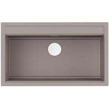 Кухонная мойка Omoikiri Kitagawa 86-LB-GR, Artceramic, серый 4993796