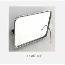 Зеркало для инвалидов поворотное антивандальное (полотно из нерж. стали) Z-3-680-680