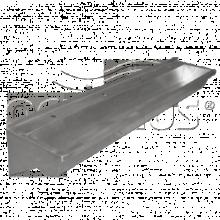 Раковина из нержавейки Oceanus 3-027.1(L)/(R), матовая