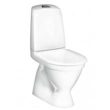 Унитаз напольный Gustavsberg Nautic 1510 GB111500201205 Hygienic Flush + 9M26S10 крышка-сиденье микролифт