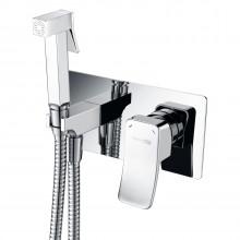 Встраиваемый смеситель для душа с гигиенической лейкой  WasserKRAFT Aller 10638  9062532