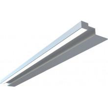 Светильник Aquanet De Aqua Алюминиум 120 серебро (230818)