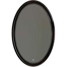 Зеркало Aqwella Clarberg Borgia 65 черное/патина медь BOR0210BLK