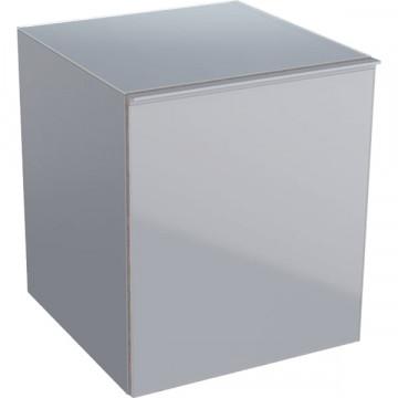 Шкафчик подвесной Geberit Acanto 500.618.JL.2 песчаный глянец / глянцевое стекло
