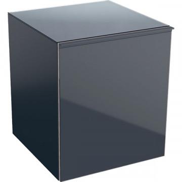 Шкафчик подвесной Geberit Acanto 500.618.JK.2 песчаный глянец / глянцевое стекло