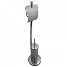 Ершик туалетный G-teq напольный на стойке, с держателем для ТБ (056)