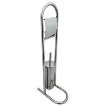 Ершик туалетный G-teq напольный на стойке, с держателем для ТБ (060) 02.36