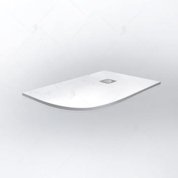 Поддон душевой RGW Stone Tray ST/AR-0129W белый 16154129-01R из искусственного камня