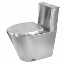 Унитаз напольный MOEFF с водяным баком и металлическим сиденьем MF-222
