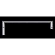 Полотенцедержатель Bemeta Omegaдля стеклянной двери 50 см, хром 104204352