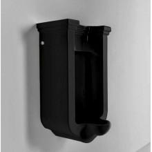 Kerasan Waldorf Писсуар подвесной с сифоном и комплектом крепежей, цвет черный