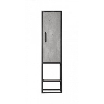Пенал подвесной Style Line Лофт ЛС-000010025 бетон