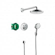 Душевая система Hansgrohe Raindance Select S 27297000 с термостатом ShowerSelect S