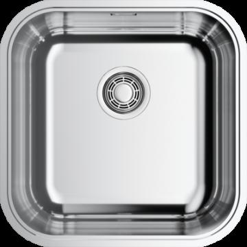 Кухонная мойка Omoikiri Omi 44-U/IF-IN Quadro нержавеющая сталь 4993494
