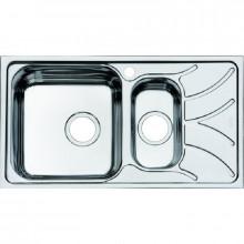 Врезная кухонная мойка Iddis Arro ARR78SXi77, 78 x 44 см, шелк