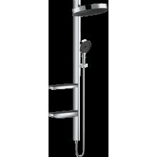 Душевая стойка Hansgrohe Rainfinity 26842000 Showerpipe 360 1jet, хром