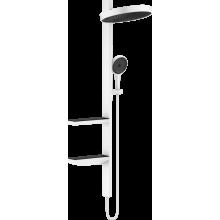 Душевая система Hansgrohe Rainfinity 26842700 Showerpipe 360 1jet белый матовый