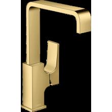 Смеситель Hansgrohe Metropol 32511990 для раковины, золото