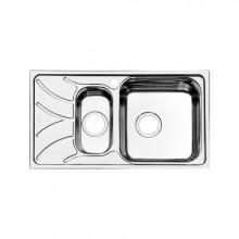 Кухонная мойка Iddis Arro ARR78SZi77 78 x 44 см, чаша справа, шелк